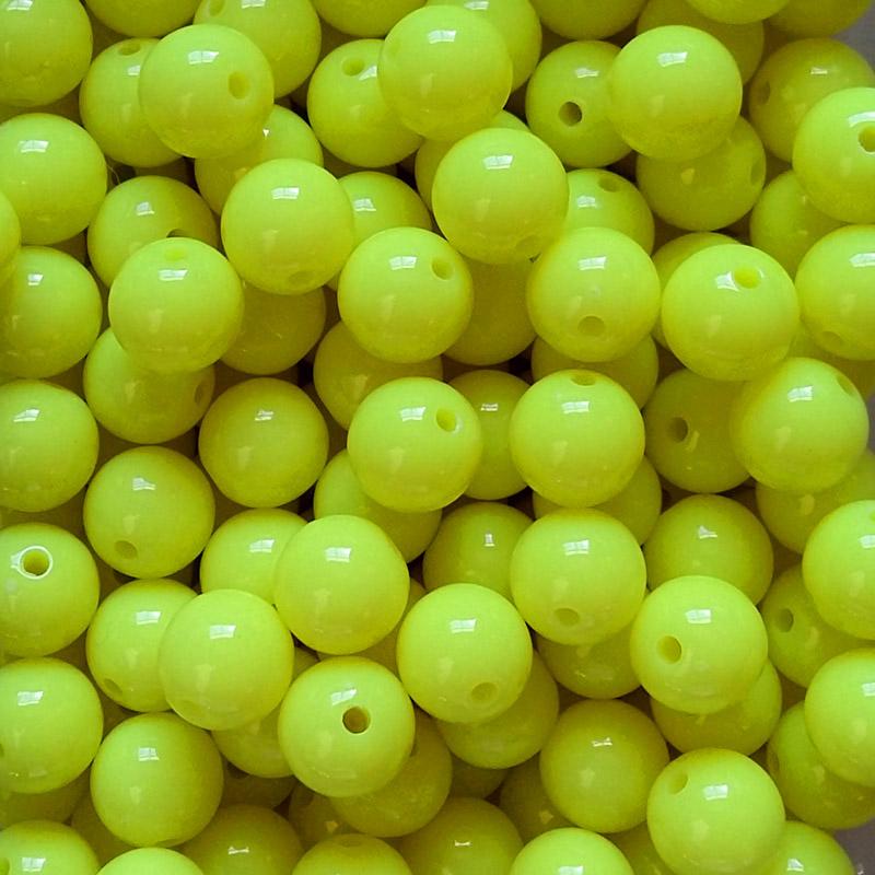 Steelhead Beads Chartreuse 10mm