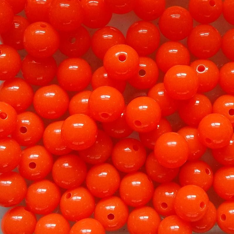 Steelhead Beads Orange Tang 10mm